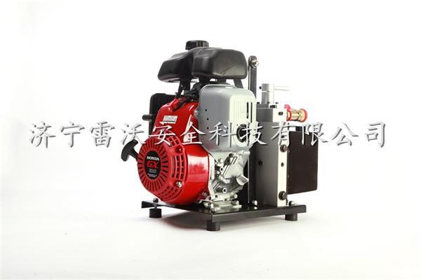 消防液压泵手抬双输出液压机动泵图片
