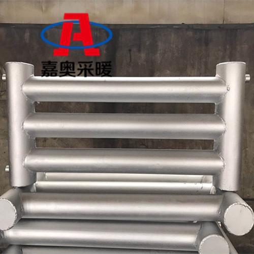 钢制光排管散热器 蔬菜大棚用工业光排管暖气片厂-嘉奥采暖