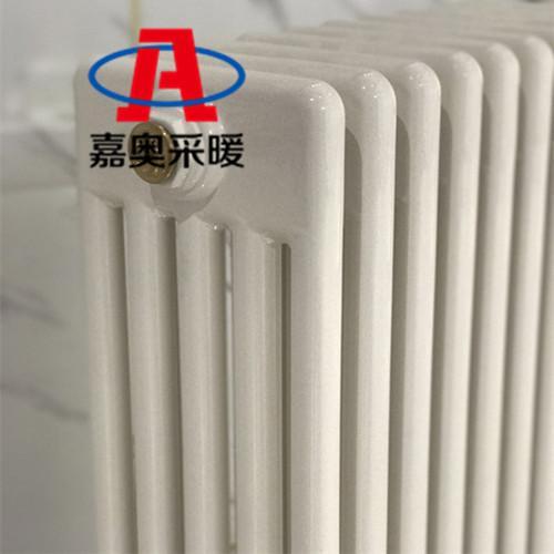 低碳钢防腐散热器工程家用钢五柱暖气片厂家-嘉奥采暖