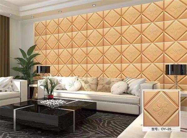 私人定制美式异形卧室床头电视沙发餐厅现代简约背景墙撞色软包