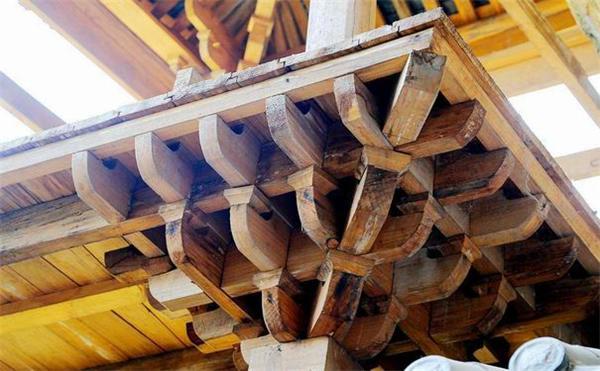 4,木结构加固要点之四——对损坏的梁柱节点的处理