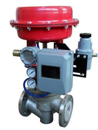 进口气动衬氟调节阀|进口净化处理设备调节阀|进口加氢设备调节阀图片