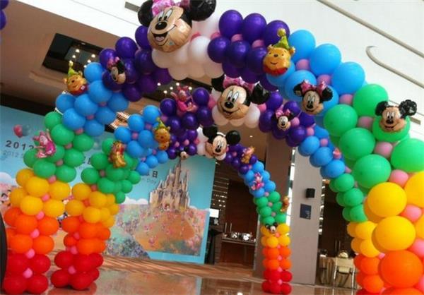 大型的动物或者物体,很多时候这些气球组成的物品总会给人带来一种