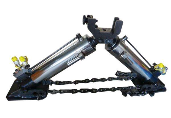 单缸液压缸结构图