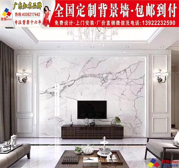 家装最流行电视背景墙效果图201920现代简约中欧式瓷砖大理石材r59