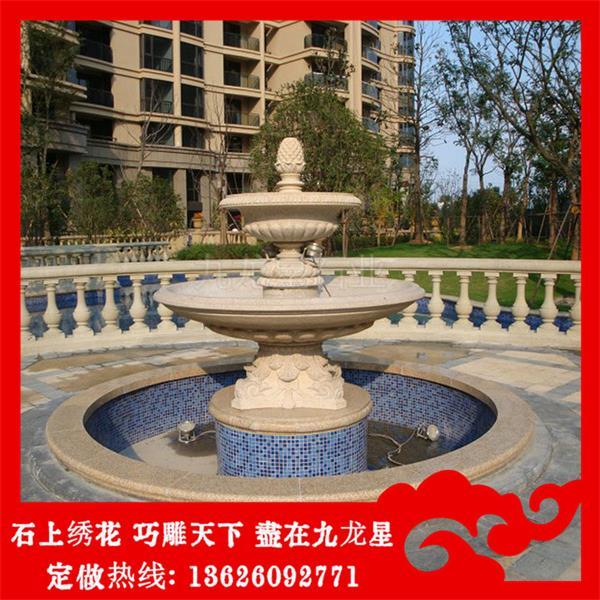 欧式雕塑喷泉实力厂家 泉州景观石雕喷泉质优价廉