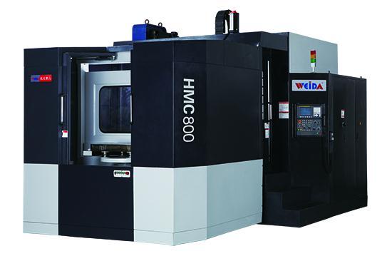 山东威达HMC800(APC)双工位卧式加工中心
