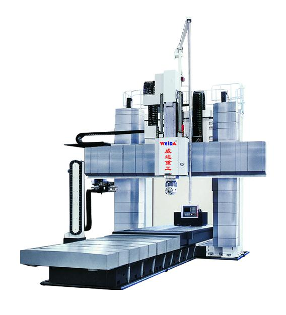 山东威达GMC3080/ GMC30100 龙门式动梁五面体加工中心