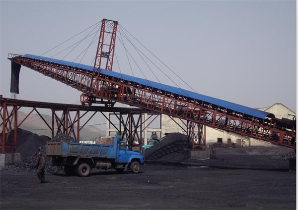 DTC系列大倾角带式输送机(水泥厂用)